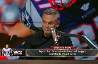 Rob Gronkowski is reportedly out for 8 weeks - How much will it matter? | THE HERD