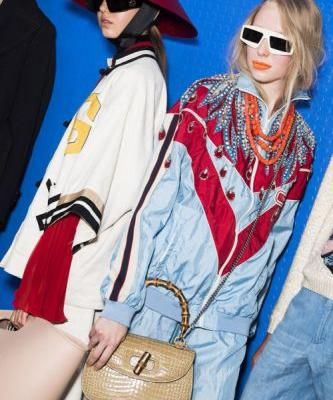 Gucci kicked off Milan Fashion Week with a bang, in the most