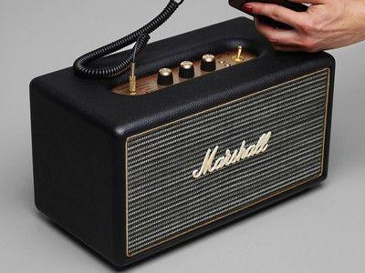 The Marshall Stanmore Bluetooth speaker is on sale for $150 at Best Buy