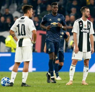 Man United score 2 late goals to win 2-1 at Juventus