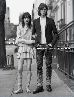 Diesel Black Gold Champions Street Style Worthy Fashions for Spring '17 Campaign