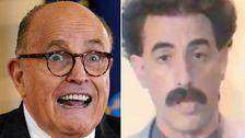 New Borat Video Mocks Rudy Giuliani With A 'Defense' That's Definitely Not Gonna Help