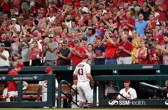 Brewers held to just 1 hit in 3-0 loss to Cardinals