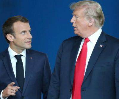 Macron rejects Trump's claim that Russia controls Germany