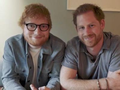 Prince Harry and Ed Sheeran Team Up in Hilarious Video for World Mental Health Day: 'Gingers Unite'