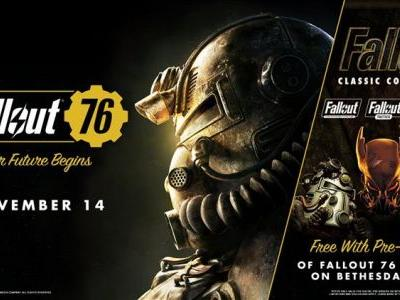 Bethesda sweetening the pot for PC pre-orders of Fallout 76