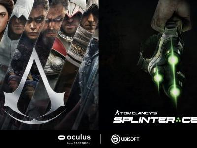 Splinter Cell and Assassin's Creed VR Games Announced for Oculus