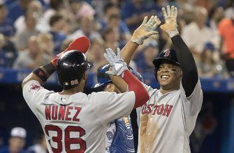Devers hits 2-run HR in return as Red Sox beat Jays 10-5