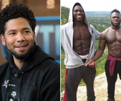 Cops investigating tip Jussie Smollett seen with brothers night of alleged attack