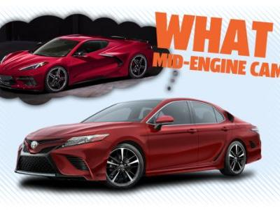 Forget the Mid-Engine Corvette; Bring on the Mid-Engine Camry