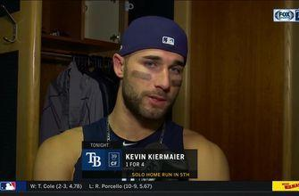 Kevin Kiermaier recaps his 2 amazing catches, 1 home run at T-Mobile Park