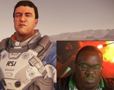 Star Citizen alpha 3.3 lets your character mimic your facial expressions through your webcam, improves frame rate by up to 100%