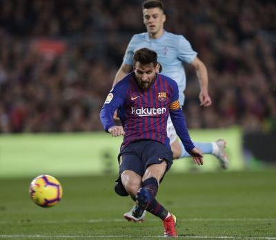 Messi, Dembele protect Barca's 3-pt lead before winter break