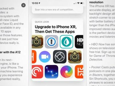 Apple continues iPhone XR sales push with App Store editorial feature