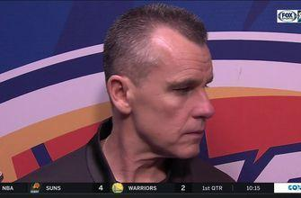 Billy Donovan on Thunder 109-104 win over Pelicans