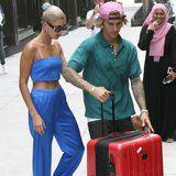 Hailey Baldwin's Outfit Just Brought Major Sex Appeal to Her Private Plane Ride With Justin