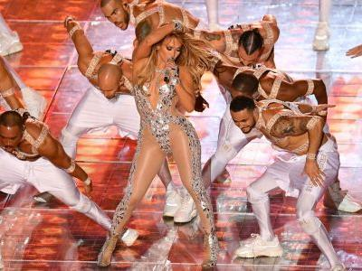 Jennifer Lopez stuns in show-stopping costumes at the Super Bowl Halftime Show