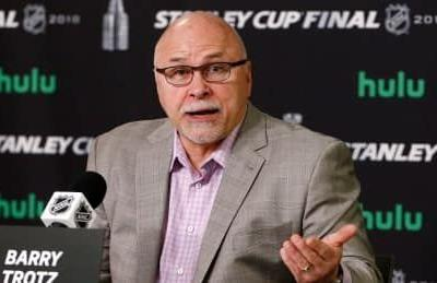 Islanders hire Barry Trotz as new head coach