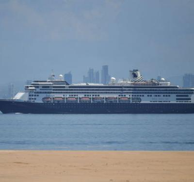 Panama Canal blocks Holland America cruise ship with 138 ill crew members and passengers, and 2 confirmed cases of COVID-19 on board
