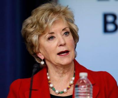 Linda McMahon set to leave role at Small Business Administration