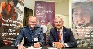 Network Rail reaffirms its commitment to the armed forces community