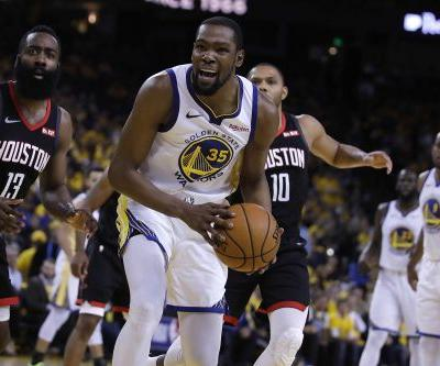 Sources: Kevin Durant will play for Warriors in Game 5 of NBA Finals