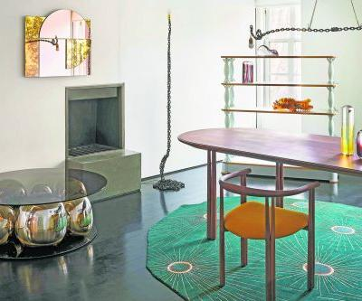 Spring's luxury design finds - from chic tables to architectural handbags