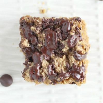 Healthy Cookie Bars