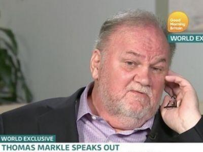 Thomas Markle has a few regrets: 'I'm a footnote in one of the greatest moments in history'