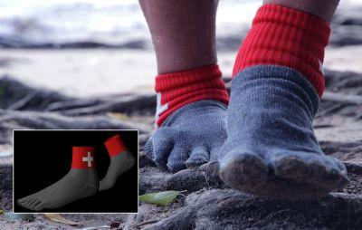 ​Who Needs Shoes? These Socks Are 15 Times Stronger Than Steel