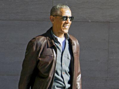 Finally, The Intel About President Obama's Leather Jacket We've Been Waiting For