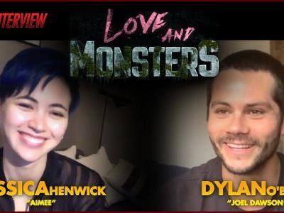 CS Video: Dylan O'Brien & Jessica Henwick Talk Love and Monsters