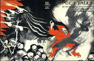 Arthur Rackham, 'Poe's Tales of Mystery and Imagination', cover