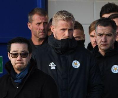 Helicopter tragedy will haunt me forever, Leicester's Schmeichel says