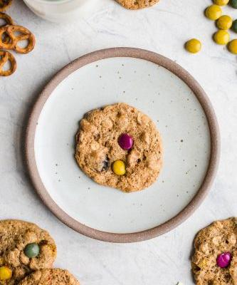 Monster Cookies with Almond Butter