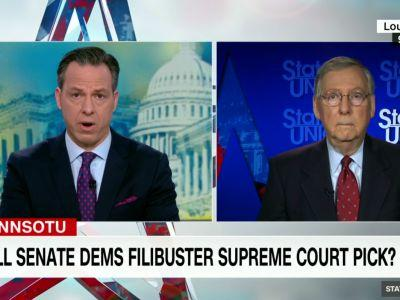 Jake Tapper grills McConnell over Trump's Putin defense: 'He just said something that could've been broadcast on RT'