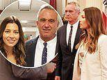 Jessica Biel joins Robert F Kennedy Jr in lobbying against California vaccination bill