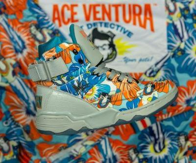 Ewing Athletics Pays Homage to 'Ace Ventura' With Floral Print 33 HI
