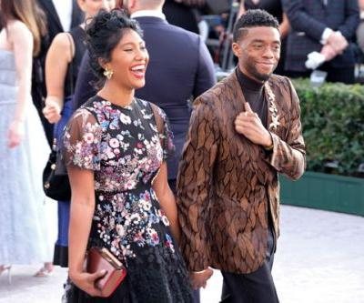 Chadwick Boseman's Wife Made Us Emotional At The Golden Globes