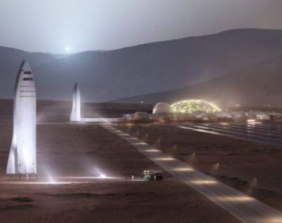 SpaceX Mars BFR rocket Port of Los Angeles plans confirmed