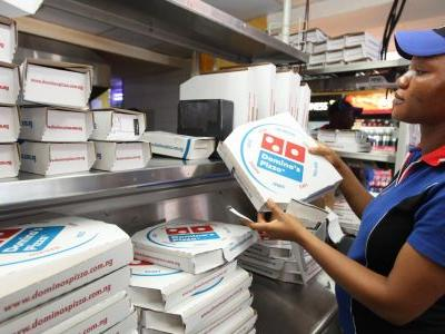 Food-delivery services can't seem to pull people away from the 23 pounds of pizza they eat every year