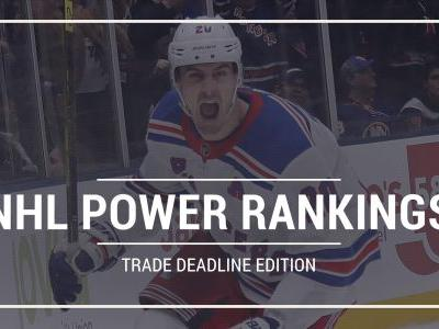NHL power rankings: Golden Knights, Rangers, Oilers shift after trade deadline