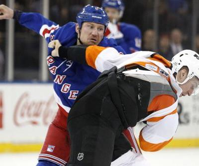 Rangers bring back muscle-bound enforcer for toughness