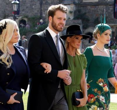Meet Louis Spencer, Prince Harry's hot younger cousin who caught everyone's eye at the royal wedding