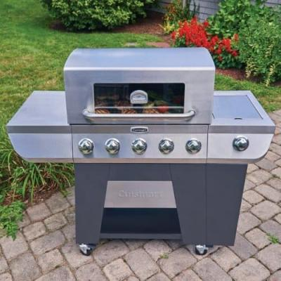 Cuisinart 3-in-1 Stainless Gas Grill Review & Giveaway