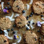 Coconut Blueberry Cookies, gluten-free and vegan