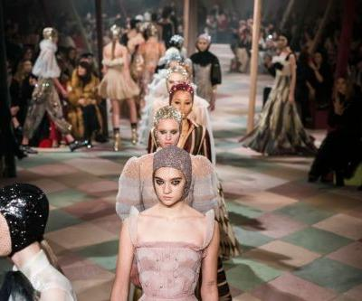 Dior Couture Turned the Runway Into a Circus Ring for Spring 2019