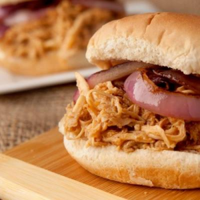 Hawaiian BBQ Chicken Sandwich