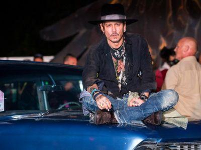 Johnny Depp jokes about Trump: 'When was the last time an actor assassinated a president?'
