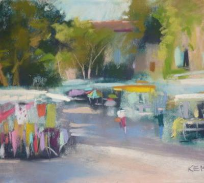 Painting Provence part 8.Unexpected Treasures in Goult